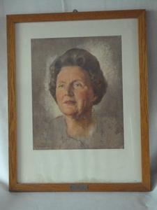 2138  Prent Koningin Juliana 1964