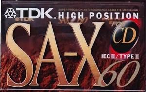 45  TDK SAX 60  (nieuw)