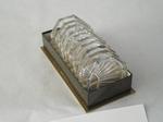 3081  Set glazen onderzetters in doos 10-Delig